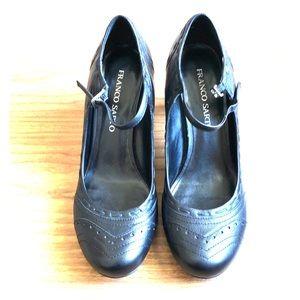 Franco Sarto black Mary Jane pumps shoes size 9.5